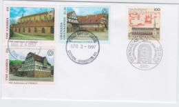 Joint Issue: Gambia & Germany FDC  UNESCO 1997/98 (G103-27) - Emisiones Comunes