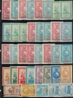 Iran/Qajar/Persia 38 Different Revenue Stamps MNH  Q#287 - Iran