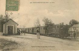 44 Saint Brevin Les Pins  La Gare Train - Saint-Brevin-l'Océan