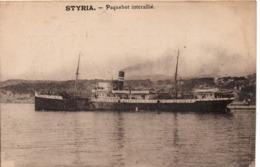 STYRIA - Paquebot Interallié - Steamers