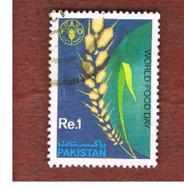 PAKISTAN  -  SG 784  -  1989 WORLD FOOD DAY  -  USED ° - Pakistan