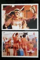 Gammel Dansk Lot De 2 Carte Postale - Publicidad