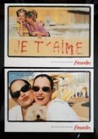 Freundin Lot De 2 Carte Postale - Publicidad