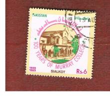 PAKISTAN  -  SG 789  -  1989 MURRAY COLLEGE, SIALKOT  -  USED ° - Pakistan