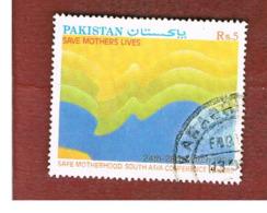 "PAKISTAN  -  SG 798  -  1990  ""SAFE MOTHERHOOD"" SOUTH ASIA CONFERENCE  -  USED ° - Pakistan"