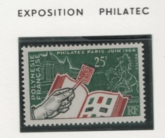W34 Polynésie °° N° 26 Expo Philatélique - Polynésie Française