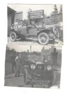 LAUSANNE MALLEY (Suisse) Deux Petites Photographies Carrosserie Automobile Zanolo Ryffel - VD Waadt