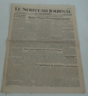 Le Nouveau Journal De Strasbourg Du 14 Juin 1945. - Riviste & Giornali