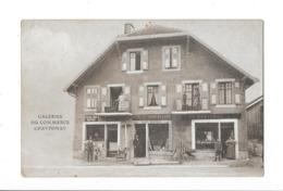 CHAVORNAY (Suisse) Devanture Magasin Galeries Du Commerce Animation - VD Waadt