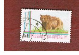 PAKISTAN  -  SG 918  -  1994 ANIMALS:  BROWN BEAR     -  USED ° - Pakistan
