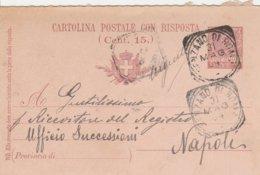 Genzano Di Roma. 1904. Annullo Tondo Riquadrato GENZANO DI ROMA, Su Cartolina Postale Completa Di Testo. - 1900-44 Vittorio Emanuele III