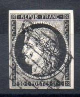 YT N° 3a - Cote: 70,00 € - 1849-1850 Cérès