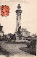 Fontenay Le Comte : Monument élevé à Lamémoire Des Combattants De 1870-71 - Fontenay Le Comte
