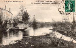 Fontenay Le Comte : La Chaussée Du Moulin Du Château - Fontenay Le Comte