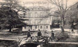 Fontenay Le Comte : Hôtel De Ville Et Jardin Pupblic - Fontenay Le Comte