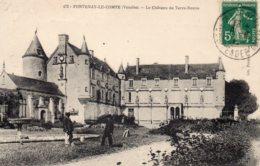 Fontenay Le Comte : Château De Terres Neuves - Fontenay Le Comte