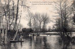 Fontenay Le Comte : Chaussée Du Moulin De La Roche - Fontenay Le Comte