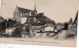 Poiré Sur Vie : Le Bourg Vu De La Route D'Aizenay - Poiré-sur-Vie