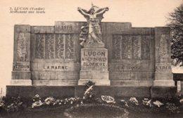 Luçon : Monument Aux Morts - Lucon