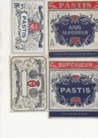 LOT DE 6 ETIQUETTES PASTIS -ANIS  -TB - Other