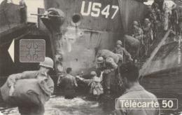 FRANCIA. 50th Anniversar Of Landings And The Liberation Of France. Debarquement Sur Les Cotes US47. 0479A. 06/94. (306). - Armada