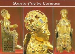 CPM - AVEYRON - SAINTE FOY DE CONQUES - TRESOR DE CONQUES - Frankreich