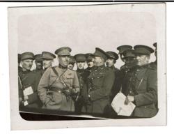Petite Photo 8 Cm X 6,5 Cm - Aalst Pupillenschool 1908 - Kapitein Bohez (?) - 2e Régiment (?) - 2 Scans - Oorlog, Militair