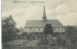 CHALLET L'Eglise Et Le Presbytère - Autres Communes