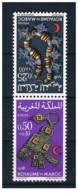 Marocco - 1970 - Nuovo/new MNH - Mezzaluna Rossa - Mi N. 668/69 - Marocco (1956-...)