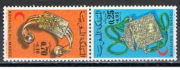 Marocco - 1973 - Nuovo/new MNH - Mezzaluna Rossa - Mi N. 749/50 - Marocco (1956-...)