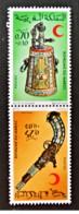 Marocco - 1974 - Nuovo/new MNH - Mezzaluna Rossa - Mi N. 772/73 - Marocco (1956-...)