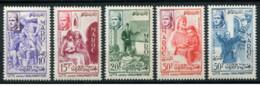Marocco - 1956 - Nuovo/new MNH - Analphabetisme - Mi N.  415/19 - Marocco (1956-...)