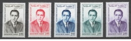 Marocco - 1962 - Nuovo/new MNH - Hassan II - Mi N.  480/84 - Marocco (1956-...)