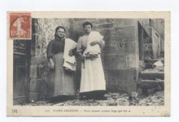 23 - TYPES CREUSOIS - LINGERES-RECTO/VERSO - B73 - Andere Gemeenten
