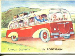 N°77103 -carte à Système -joyeux Souvenir De Pontmain- - Mechanical
