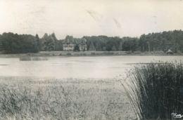 N°77106 -cpsm Paimpont -l'étang Et Le Château- - Paimpont
