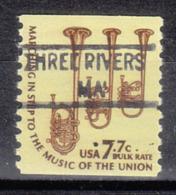 USA Precancel Vorausentwertung Preo, Locals Massachusetts, Three Rivers 841 - Vorausentwertungen