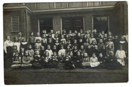 Carte Photo - 1914-1915 - Belgische School - Amersfoort - Fotograaf P. Payens -  2 Scans - Amersfoort