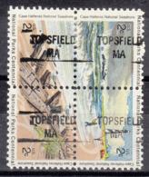 USA Precancel Vorausentwertung Preo, Locals Massachusetts, Topsfield 841, Hatteras Block - Vorausentwertungen