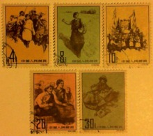 1961 CHINA Pioples Of China Used - 1949 - ... People's Republic