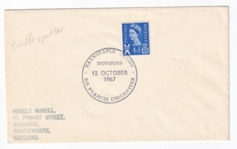 United Kingdom 1967 Cover: Sailing, Segeln; Voile; Vela: Sir Francis Chicester. Aviation Pioneer And Solo Sailer - Sailing