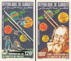 IMPERF. Djibouti 1984 - 1609 - Realisation De La Lunette De Galilee : Michel 420-421; Yvert 213-214. - Djibouti (1977-...)