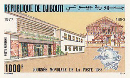 IMPERF. Djibouti 1988 - Journee Mondiale De La Poste: Michel 512; Yvert 244. - Djibouti (1977-...)