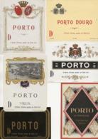 LOT DE 18 ETIQUETTES  DIFFERENTES PORTO - Collections & Sets