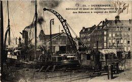 CPA DUNKERQUE-Batiment Et Quai De Dechargement (422895) - Dunkerque