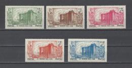 INDE . YT  N° 118/122  Neuf *  1939 - Indien (1892-1954)