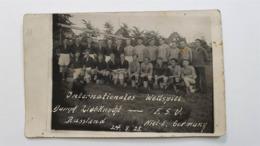 Photographie Ancienne Football URSS Allemagne Premiers Conseils Rouble 1929 Original - Soccer