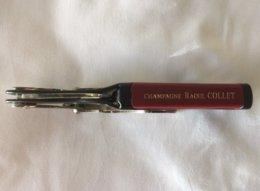 Limonadier - Tire Bouchon Champagne Raoul Collet - Bottle Openers
