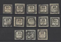 FRANCE . YT Timbres Taxe  N° 2 Obl  1861 - Taxes