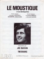 PARTITION LE MOUSTIQUE - JOE DASSIN - 1972 - EXC ETAT - - Other